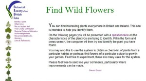 BSBI Flora search