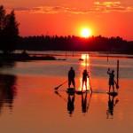 Sunset in Oulu