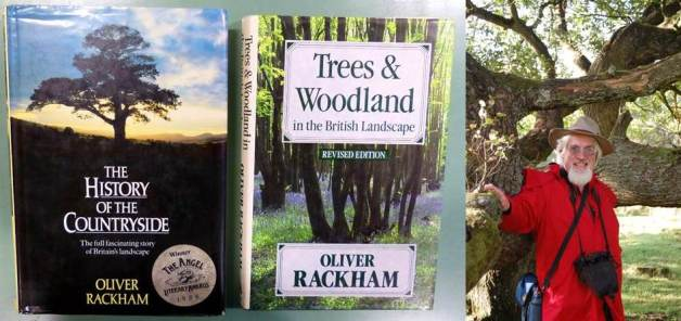Oliver Rackham and books