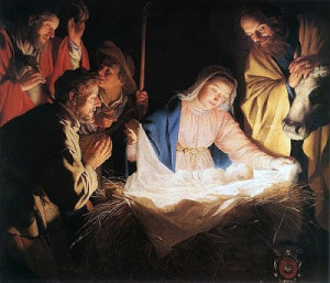Adoration-of-the-Sheperds-by-Gerard-van-Honthorst