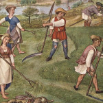 Traditional hay meadow management Grimani Breviary (ca. 1510)